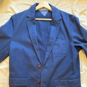 Blue Tommy Hilfiger Casual Dinner Jacket
